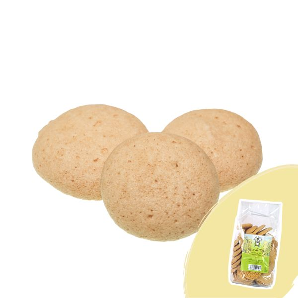 Rice heart cookies